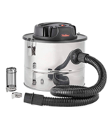 VonHaus 15L Ash Vacuum Cleaner 800W | Includes Protective Gauze, Crevice Tool and Filters