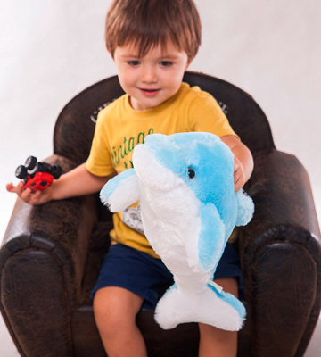 Review of Wewill YZT0174_Blue Creative Colorful LED Light Soft Toy Glowing Dolphin