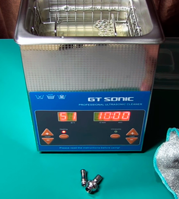 Review of GT SONIC Z0001 2L Ultrasonic Cleaner