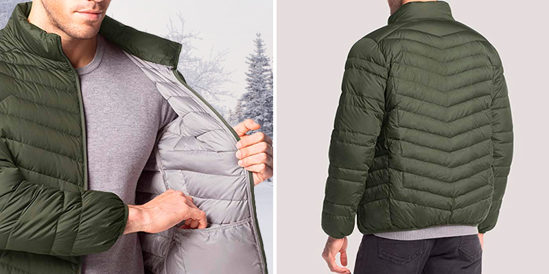 Review of LAPASA Down Jacket Men's 600FP Packable Down Filled Jacket with Side Pockets YKK
