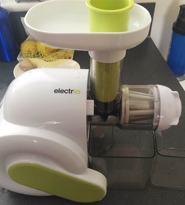 Review of ElectrIQ HSL600 Slow Masticating Juicer Extractor