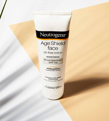 Review of Neutrogena Age Shield Sensitive Face and Neck Sun Cream