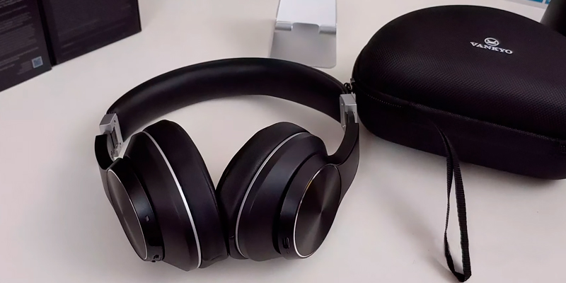 Review of VANKYO C751 Over Ear Wireless Headphones with Hybrid Active Noise Cancelling
