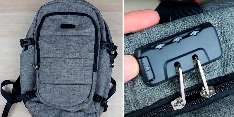 Review of AMBOR Anti-Theft Laptop Backpack