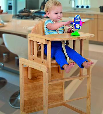 Review of East Coast 1473B Combination Highchair
