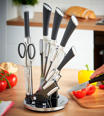 Review of VonShef Professional Stainless Steel Knife Set