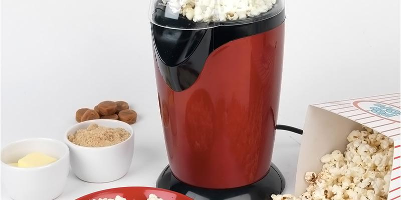 Review of Party Time EK1524R Healthy Fat Free Electric Hot Air Popcorn Maker