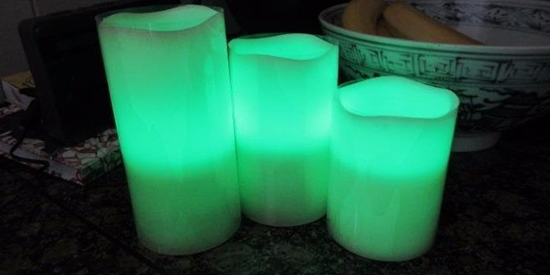 Review of Savisto SV-HOUS-Z018 Flameless Candles with Colour Changing