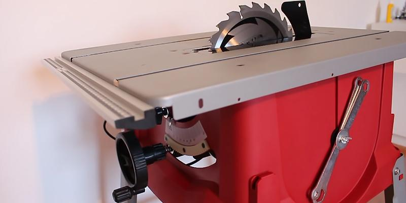 Review of Einhell TC-TS 2025 Table Saw