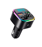 Nulaxy NX11 LED Backlit Bluetooth FM Transmitter