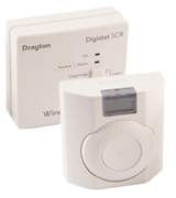 Drayton RF601 Wireless Room Thermostat with Digital Display