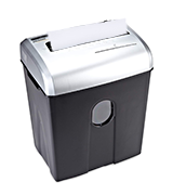 AmazonBasics AU1228XB Cross Cut Paper, Credit Card, and CD Shredder