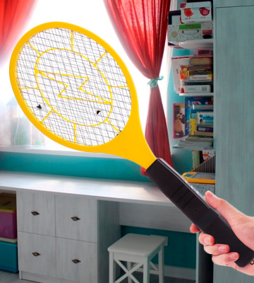 Review of QcoQce Bug Zapper Fly Zapper Racket