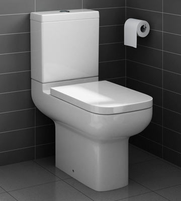 Review of Home Standard Square - SEAT01 Quick Release Soft Close Toilet Seat