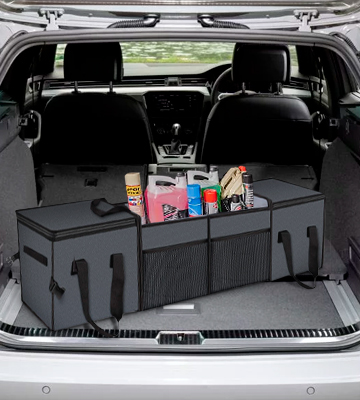 Review of X-cosrack Oxford 600D polyester Car Trunk Organizer