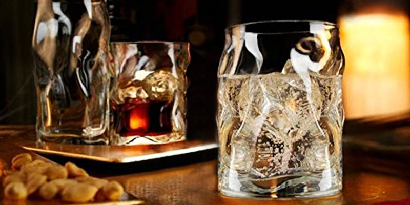Bormioli Rocco 3.40350 Whisky Glasses Set in the use
