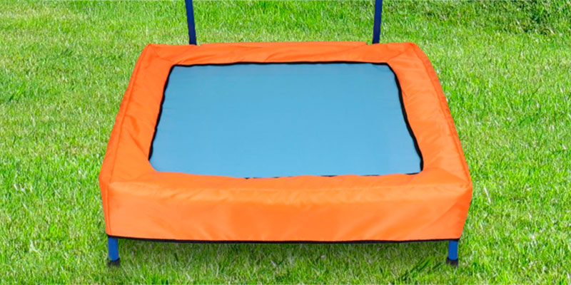 Review of NEWSKY Mini Trampoline for Kids (2049Bu) with Handle and Carry Bag Square