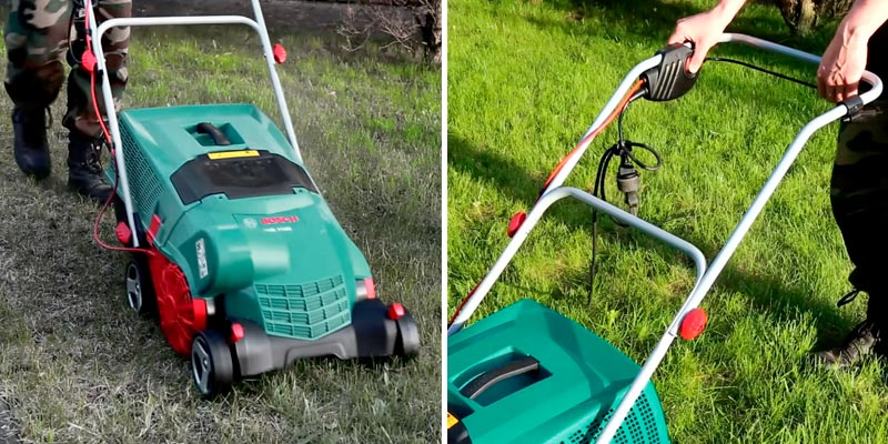 Review of Bosch AVR 1100 Verti Cutter Lawn Raker