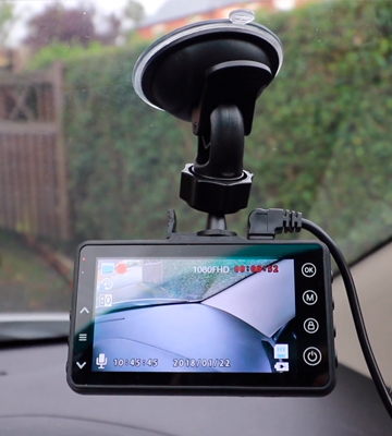 Review of iiwey DC01 1080P Car Camera with Night Vision