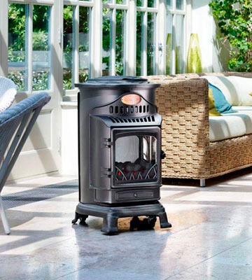 Review of Calor Provence 3kw Portable Flueless Gas Stove Heater