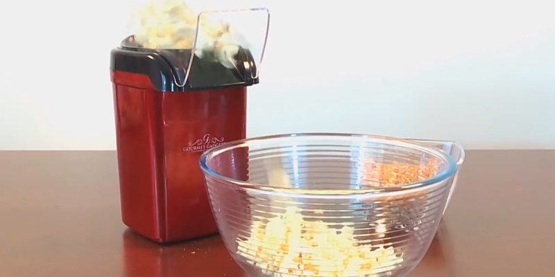 Review of Gourmet Gadgetry The New Retro Diner Popcorn Maker