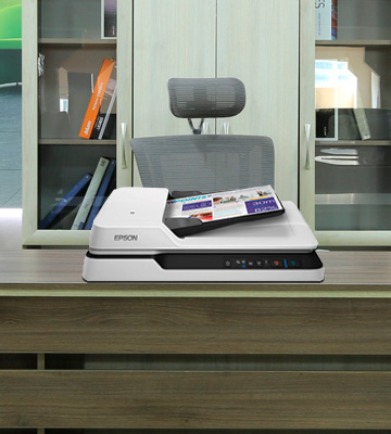Review of Epson Workforce DS 1660 W Flatbed + Sheetfeed Scanner