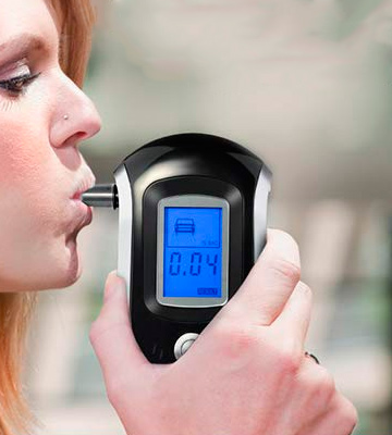 Review of VicTsing Alcohol Tester Breathalyzer with 20 Mouthpieces 【Professional Accurate】