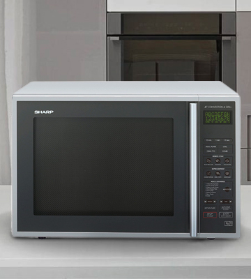 Review of Sharp R-959SLMAA Combination Microwave Convection oven, 40 L, 900 Watt