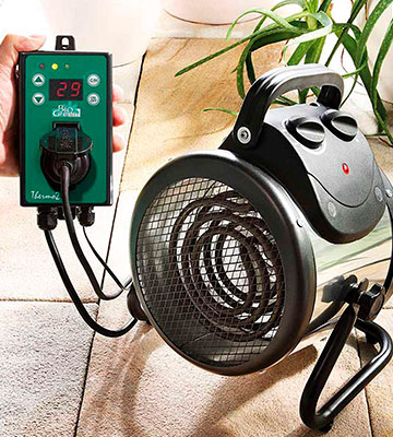 Review of Bio Green Palma (PAL 2.0/GB) Greenhouse Heater with Digital Thermostat