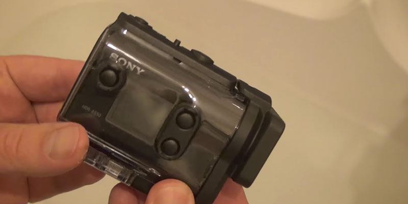 Sony HDRAS50/B Full HD Action Cam application