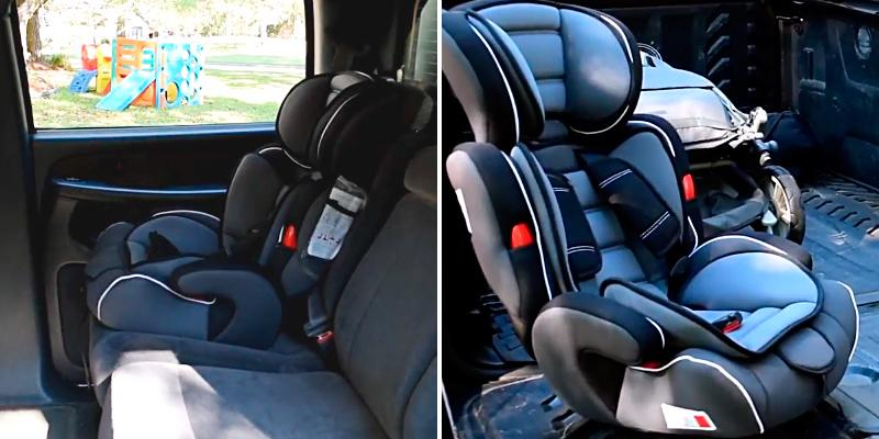 Review of Mcc 3in1 Convertible Car Seat