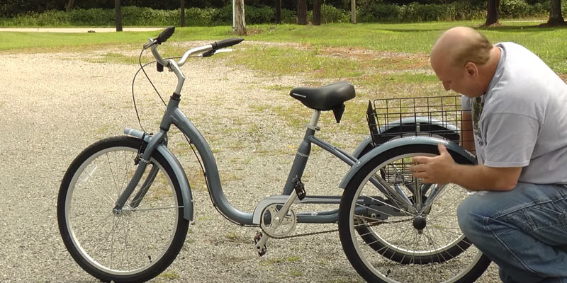 "AMMACO 26"" ADULT TRICYCLE in the use"