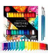 Crafts 4 ALL Acrylic paint 24 Set