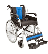 Elite Care ECSP01-18 Lightweight Folding Wheelchair