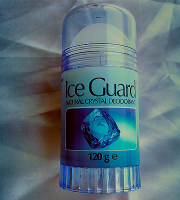 Review of Iceguard 120g Crystal Deodorant Twist Up