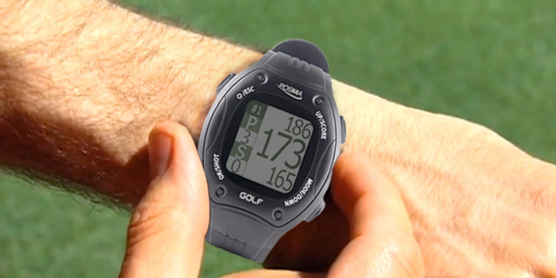 Posma GT1 Golf GPS Watch in the use