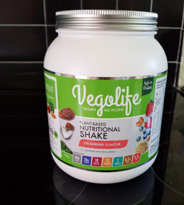 Review of Vegolife Plant Based All-In-One Vegan Protein Powder