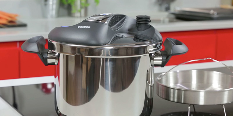 Review of Tower T90103 One Touch Pressure Cooker, 6 Litre