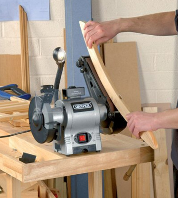 Review of Draper 05096 Bench Grinder with Sanding Belt