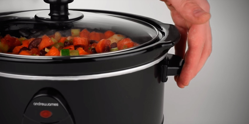 Review of Andrew James 6.5 Litre Premium Slow Cooker with Tempered Glass Lid