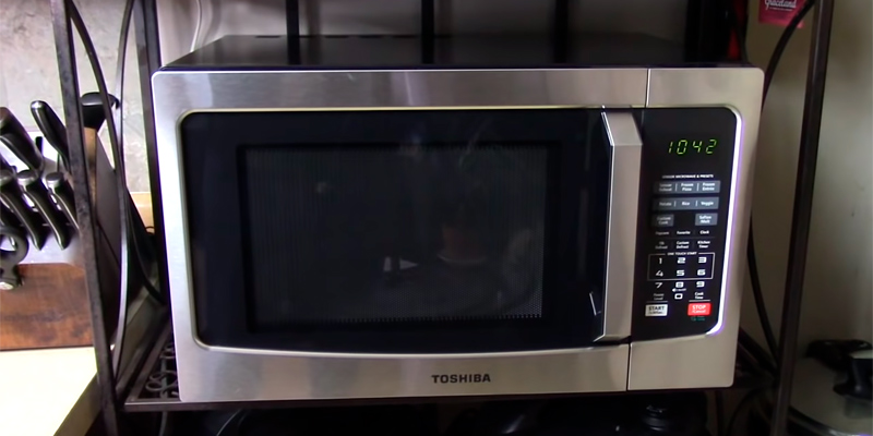 Review of Toshiba ML-EM23P(SS) Microwave Oven with Digital Display