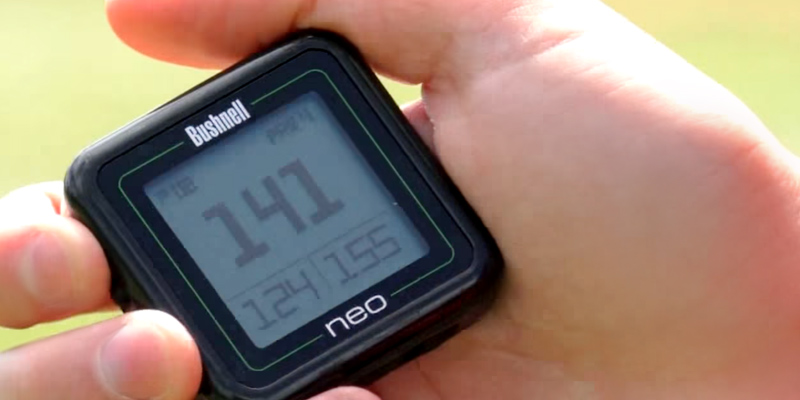 Bushnell Neo Ghost Golf GPS RangeFinder in the use