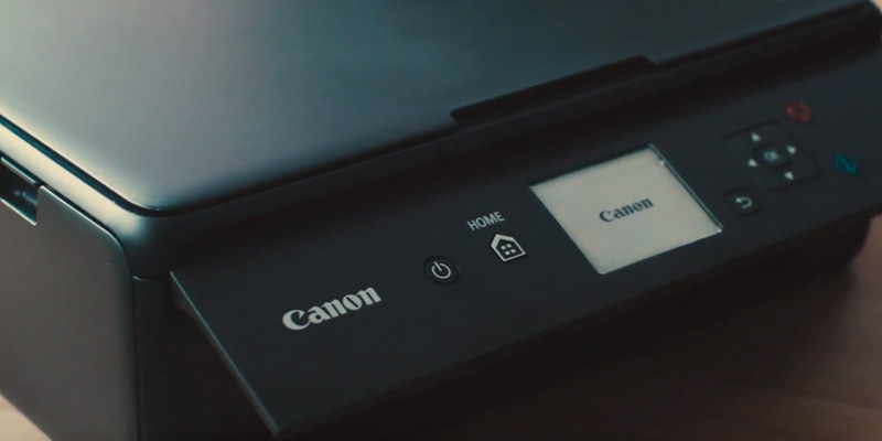 Canon PIXMA TS5050 All-In-One Printer in the use
