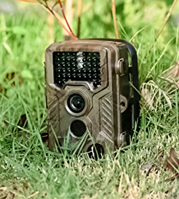 Review of BestoU Trail Camera 16 16MP 1080P Wildlife Camera with 46 Pcs low glow IR LEDs Night Version