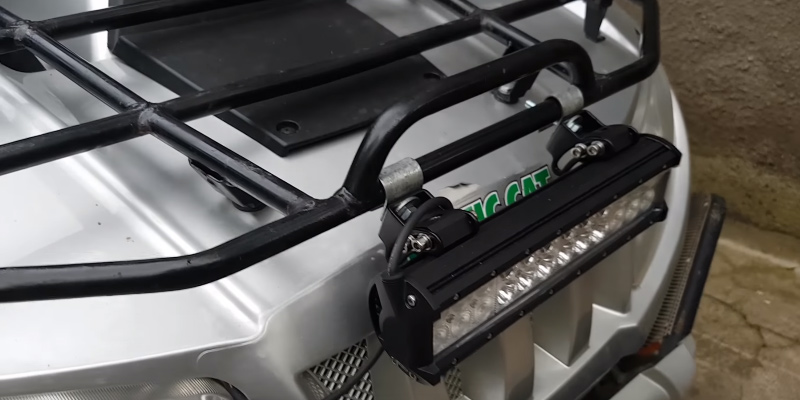 WOWLED 12 Inch 72W CREE LED Work Light Bar Combo Tuck Offroad Driving Lamp UTE 4WD 12V 24V in the use