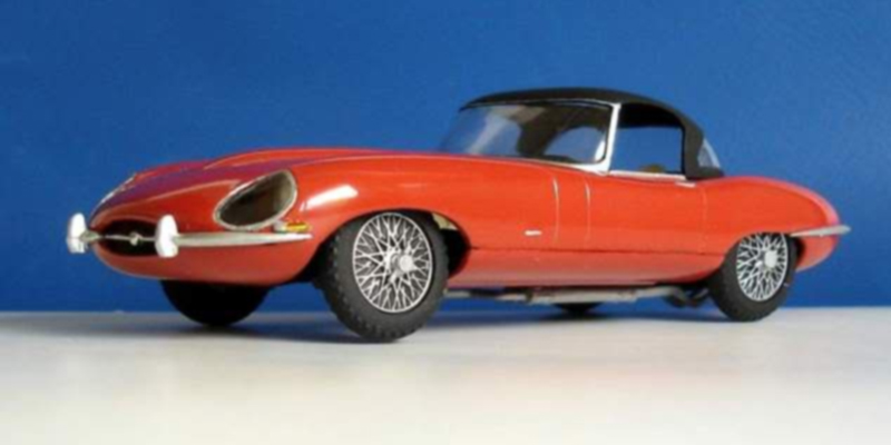 Review of Airfix A55200 Jaguar E Type 1:32 Scale Classic Car