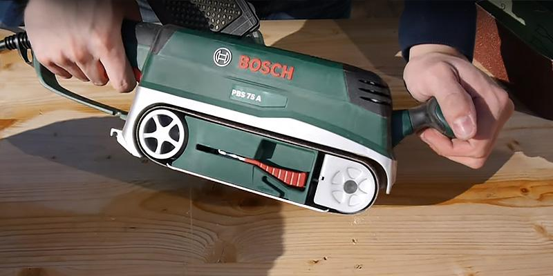 Review of Bosch PBS 75 A Belt Sander