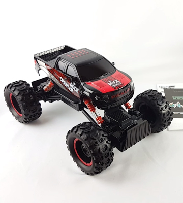 Review of Thinkgizmos TG631 Rock Master Remote Control Car