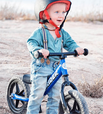 Review of Strider ST-M4BL Balance Bike