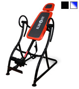 Klarfit Relax Zone Pro Black/Orange Steel Frame Max Load 150kg